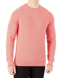 Tommy Hilfiger - Morning Glory Heather Pre-twisted Ricecorn Knit - Lyst
