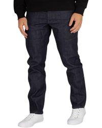 G-Star RAW - Raw Denim Faeroes Classic Straight Tapered Jeans - Lyst