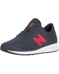 New Balance - Navy/red 420 Re-engineered Trainers - Lyst