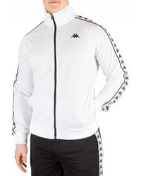 Kappa - Anniston Full Zip Tape Track Top - Lyst
