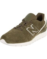 New Balance - Men's 996 Trainers, Brown Men's Shoes (trainers) In Brown - Lyst