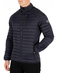 Superdry - New Navy Core Down Jacket - Lyst