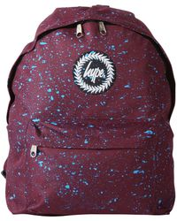 Hype - Burgundy/blue Speckle Backpack - Lyst