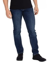 f23221ba5 Tommy Hilfiger - New Dark Stone Core Bleecker Slim Jeans - Lyst