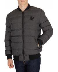 Sik Silk - Grey Aero Jacket - Lyst