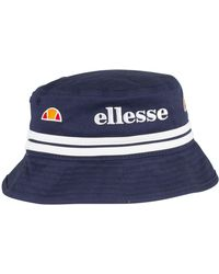 2dca5f9927a Ellesse - Navy Lorenzo Bucket Hat - Lyst