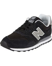 innovative design db777 23ad3 New Balance - Ml373 Women s Shoes (trainers) In Black - Lyst