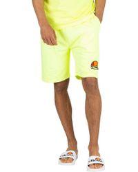 cd52589da53da Calvin Klein Neon Placed Logo Swim Shorts in Orange for Men - Lyst
