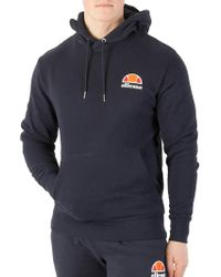 Ellesse - Dress Blues Toce Left Logo Hoodie - Lyst