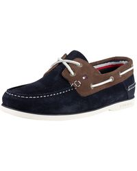 8a615f90bd1a Lyst - Men s Tommy Hilfiger Boat and deck shoes Online Sale