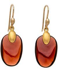 Ted Muehling - Handcut Garnet Chip Earrings - Lyst