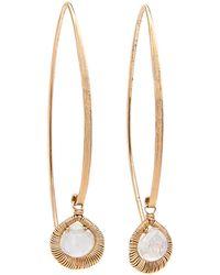 Dana Kellin - Long Marquis Moonstone Earrings - Lyst