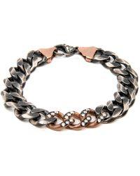 Sylva & Cie - Small Link Diamond Bracelet - Lyst