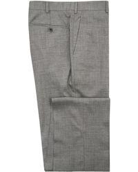 Belvest - Light Grey Melange Dress Pant - Lyst