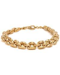 Ashley Pittman - Haki Bronze Chunky Necklace - Lyst