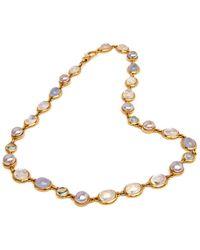 Darlene De Sedle - Cabachon Stone Necklace - Lyst