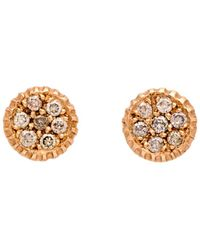 Yossi Harari - Lilah Diamond Stud Earrings - Lyst