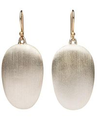 Ted Muehling - Silver Chip Earrings - Lyst