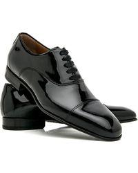 Di Bianco - Black Patent Leather Formal Oxford - Lyst