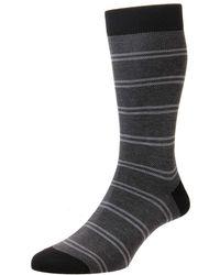 7782b596f4b Lyst - Pantherella  tabitha  Cashmere Blend Knee Socks in Black