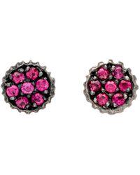 Yossi Harari - Lilah Ruby Stud Earrings - Lyst