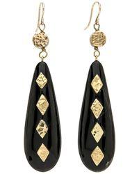 Ashley Pittman - Ndoa Dark Horn Earrings - Lyst