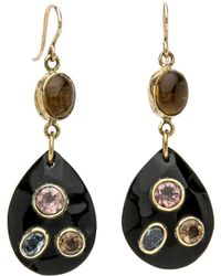 Ashley Pittman - Ukali Dark Horn Earrings - Lyst