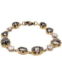 Sylva & Cie - Mixed Diamond Bracelet - Lyst