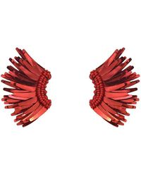 Mignonne Gavigan Madeline Mini Raffia Statement Earrings wzsziCEMrZ