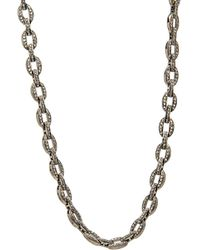 Hannah Ferguson - Diamond Pave Link Necklace - Lyst