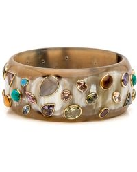 Ashley Pittman - Urujuani Light Horn Bangle - Lyst
