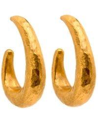 Yossi Harari - Roxanne Hoop Earrings - Lyst