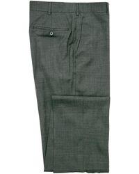 Belvest - Dark Grey Melange Dress Pant - Lyst