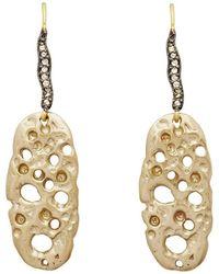 Julie Cohn - Coral Slice Earrings - Lyst