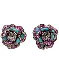 Wendy Yue - Opal Stud Earrings - Lyst