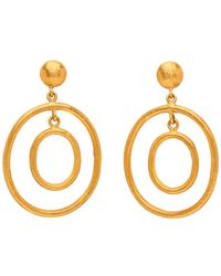Yossi Harari | Rachel Double Small Earrings | Lyst