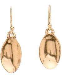 Julie Cohn - Bronze Shell Earrings - Lyst