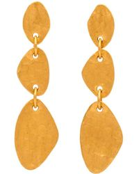 Yossi Harari - Melissa Triple Drop Earrings - Lyst