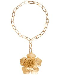 Julie Cohn - Peony Greco Necklace In Bronze - Lyst