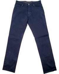 Ermenegildo Zegna | Navy 5 Pocket Jean | Lyst