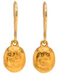 Yossi Harari - Roxanne Gold Mini Drop Earrings - Lyst