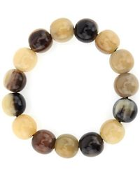 Nest - Horn Stretch Bracelet - Lyst