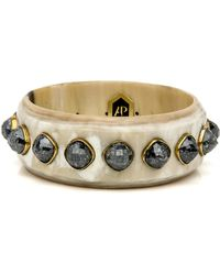 Ashley Pittman - Vurugu Light Horn Bangle - Lyst