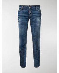 DSquared² - Jennifer Cropped Jeans - Lyst