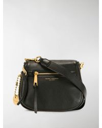 f8195bba4 Lyst - Marc Jacobs Women's Small Recruit Leather Saddle Bag Cross ...