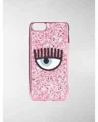 Chiara Ferragni - Glittered Iphone 7 Case - Lyst