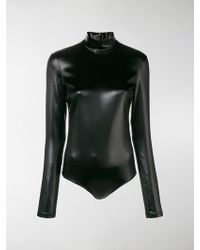 Givenchy - Coated Jersey Bodysuit - Lyst