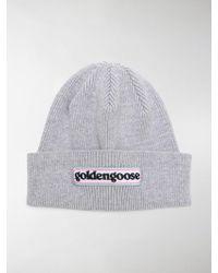 Golden Goose Deluxe Brand - Logo Beanie Hat - Lyst
