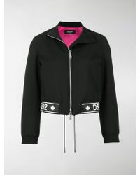 DSquared² - Logo Printed Jacket - Lyst