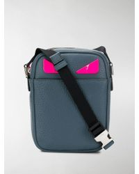 Fendi Small Messenger Bag - Blue